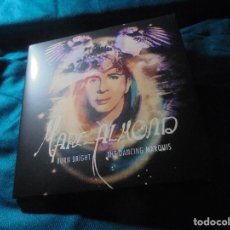Discos de vinilo: MARC ALMOND. BURN BRIGHT / THE DANCING MARQUIS. SINGLE + CD. LIMITED EDITION. 2013. IMPECABLE. (#). Lote 195030276