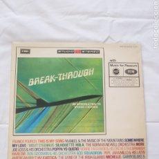 Discos de vinilo: TLP01 DISCO DE VINILO LP. Lote 195030823