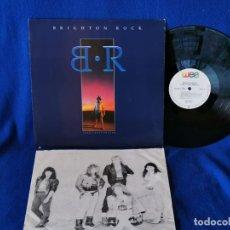 Discos de vinilo: BRIGHTON ROCK - TAKE A DEEP BREATH - LP 1988 - CON INSERTO CON FOTOS Y LAS LETRAS -. Lote 195032362