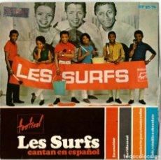 Discos de vinilo: LES SURFS - CANTAN EN ESPAÑOL - HISPAVOX. Lote 195033488