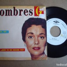 Discos de vinilo: HOMBRES G SG 7'' NO, NO, NO PROMOCIONAL TWINS 1987 CELO EN LATERALES VG. Lote 195033687