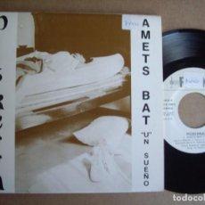 Discos de vinilo: PISKERRA SG 7'' AMETS BAT RDK 1991 EX. Lote 195034061