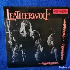 Discos de vinilo: LEATHERWOLF - LEATHERWOLF - LP 1987 PRINTED IN USA - EXCELENTE ESTADO. Lote 195034241