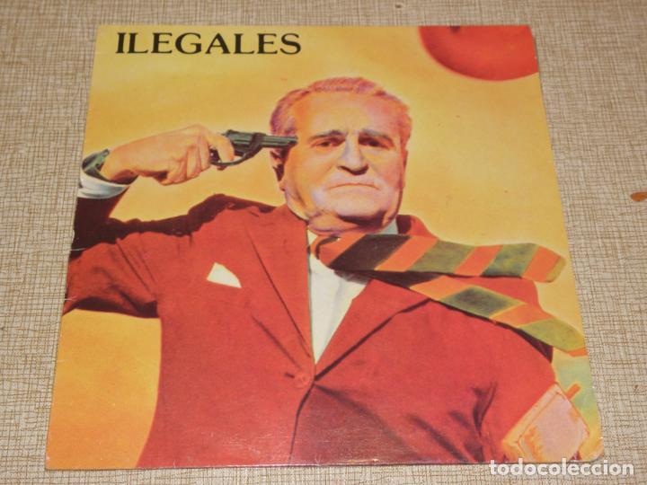 ILEGALES - TIEMPOS NUEVOS, TIEMPOS SALVAJES...LP DE 1984 ..1ª ED. DE EPIC - MUY BUEN ESTADO (Música - Discos - LP Vinilo - Grupos Españoles de los 70 y 80)