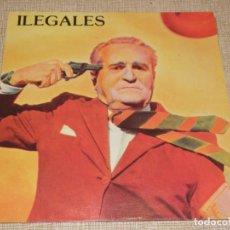 Discos de vinilo: ILEGALES - TIEMPOS NUEVOS, TIEMPOS SALVAJES...LP DE 1984 ..1ª ED. DE EPIC - MUY BUEN ESTADO. Lote 195034565