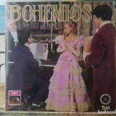 Discos de vinilo: ** BOHEMIOS (ZARZUELA) - EDICIÓN EXCLUSIVA PARA TVE - LP 1968 (DOBLE PORTADA) - LEER DESCRIPCIÓN. Lote 195035300