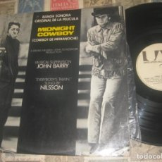 Discos de vinilo: MIDNIGHT COWBOY. .EVERYBODY´S TALKIN´.NILSSON.(UNITED ARTISTS A 1975 ) EDITADO ESPAÑA. Lote 195035541