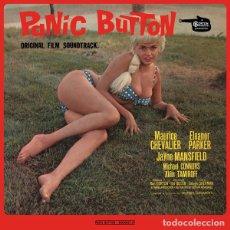 Discos de vinilo: BANDA SONORA ORIGINAL PANIC BUTTON (GEORGES GARVARENTZ) LP . JAYNE MANSFIELD. Lote 195036960