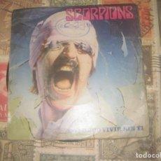 Discos de vinilo: SCORPIONS.NO PUEDO VIVIR SIN TI.( 1982.EMI-HARVEST.) OG ESPAÑA LEER DESCRIPCION. Lote 195037203