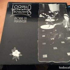 Discos de vinilo: LOQUILLO Y LOS TROGLODITAS (MORIR EN PRIMAVERA) LP ESPAÑA 1988 (B-10). Lote 195037576