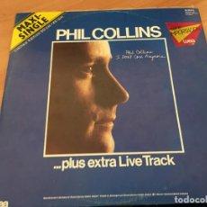 Discos de vinilo: PHIL COLLINS ( I DON'R CARE ANYMORE) MAXI SINGLE ALEMANIA 1988 LIMITED EDITION (B-10). Lote 195039027