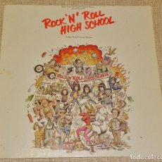 Discos de vinilo: ROCK´N´ROLL HIGH SCHOOL LP--RAMONES-DEVO-CHUCK BERRY-ALICE COOPER. Lote 195039306