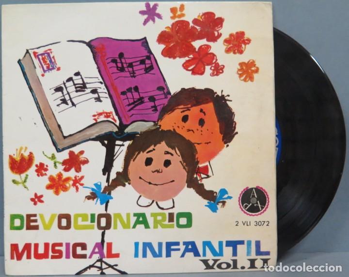 DEVOCIONARIO MUSICAL INFANTIL VOL.II. ESCOLANÍA (Música - Discos de Vinilo - EPs - Música Infantil)