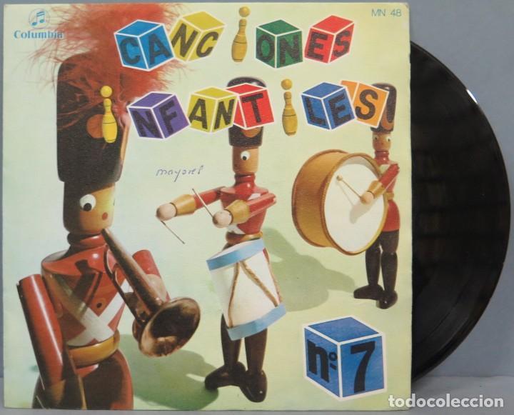 SINGLE. CANCIONES INFANTILES. Nº 7. COLUMBIA (Música - Discos de Vinilo - EPs - Música Infantil)
