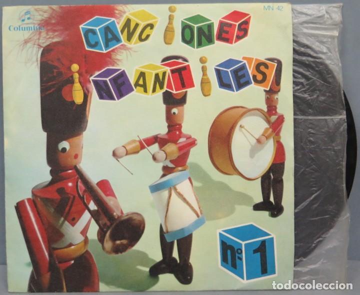 SINGLE. CANCIONES INFANTILES. Nº 1. COLUMBIA (Música - Discos de Vinilo - EPs - Música Infantil)