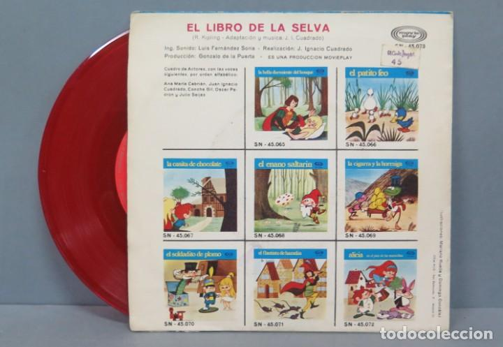 Discos de vinilo: EL LIBRO DE LA SELVA. MOVIE PLAY - Foto 2 - 195040570