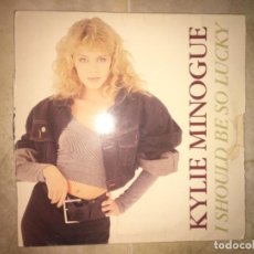 Discos de vinilo: KYLIE MINOGUE: I SHOULD BE SO LUCKY. Lote 195041832