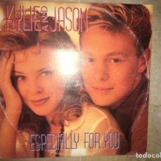 Discos de vinilo: JASÓN AND KYLIE MINOGUE: ESPECIALLY FOR YOU. Lote 195042036