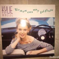 Discos de vinilo: KYLIE MINOGUE: TEARS ON MY PILLOW. Lote 195042315