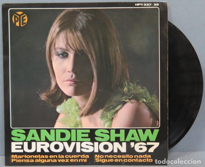 EP. SANDIE SHAW. EUROVISIÓN '67 (Música - Discos de Vinilo - EPs - Canción Francesa e Italiana)