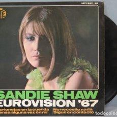 Discos de vinilo: EP. SANDIE SHAW. EUROVISIÓN '67. Lote 195043436