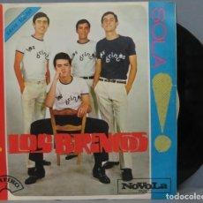 Discos de vinilo: SINGLE. LOS BRINCOS. BORRACHO. Lote 195043671