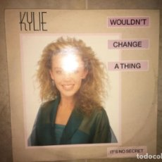Discos de vinilo: KYLIE MINOGUE: WOULDN'T CHANGE A THING. Lote 195044031