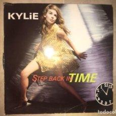 Discos de vinilo: KYLIE MINOGUE: STEP BACK IN TIME. Lote 195044342