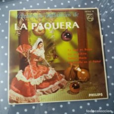 Discos de vinilo: LA PAQUERA - VILLANCICOS ANDALUCES. Lote 195045098