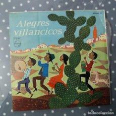 Discos de vinilo: ALEGRES VILLANCICOS. Lote 195045606