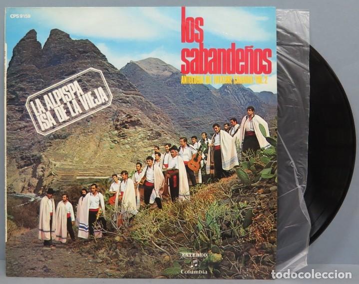 LP. LOS SABANDEÑOS. ANTOLOGIA DEL FOLKLORE CANARIO VOL. 2 (Música - Discos - LP Vinilo - Étnicas y Músicas del Mundo)