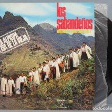 Discos de vinilo: LP. LOS SABANDEÑOS. ANTOLOGIA DEL FOLKLORE CANARIO VOL. 2. Lote 195045620