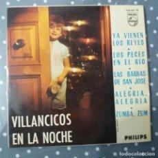 Discos de vinilo: VILLANCICOS EN LA NOCHE. Lote 195045671
