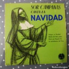 Discos de vinilo: SOR CAMPANAS CANTA A LA NAVIDAD. Lote 195045803