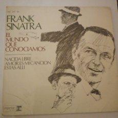 Discos de vinilo: FRANK SINATRA, SINGLE. Lote 195045921