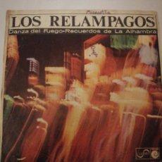 Discos de vinilo: LOS RELÁMPAGOS, SINGLE. Lote 195046068