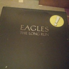 Discos de vinilo: EAGLES, THE LONG RUN. Lote 195046330