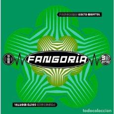 Discos de vinilo: FANGORIA SALTO MORTAL VINILO VERDE + CD NUEVO PRECINTADO. Lote 195046537