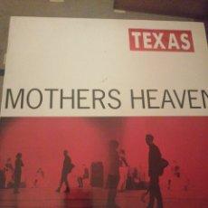 Discos de vinilo: TEXAS. MOTHERS HEAVEN. Lote 195046556