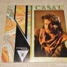 Discos de vinilo: LP VINILO TINO CASAL ETIQUETA NEGRA CON ENCARTE 1983. Lote 195046656