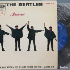 Discos de vinilo: SINGLE. THE BEATLES. HELP ! SOCORRO. Lote 195047111