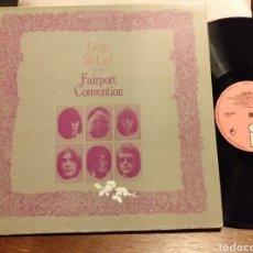 Discos de vinilo: FAIRPORT CONVENTION LIEGE & LIEF PRIMERA EDICION INGLESA 1969. Lote 195047307