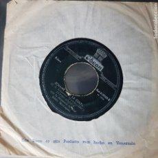 Discos de vinilo: RARO SINGLE DE LUCHO GATICA FUNDA VENEZUELA, DISCO IND. COLOMBIANA ODEON BOLERO. Lote 195048650