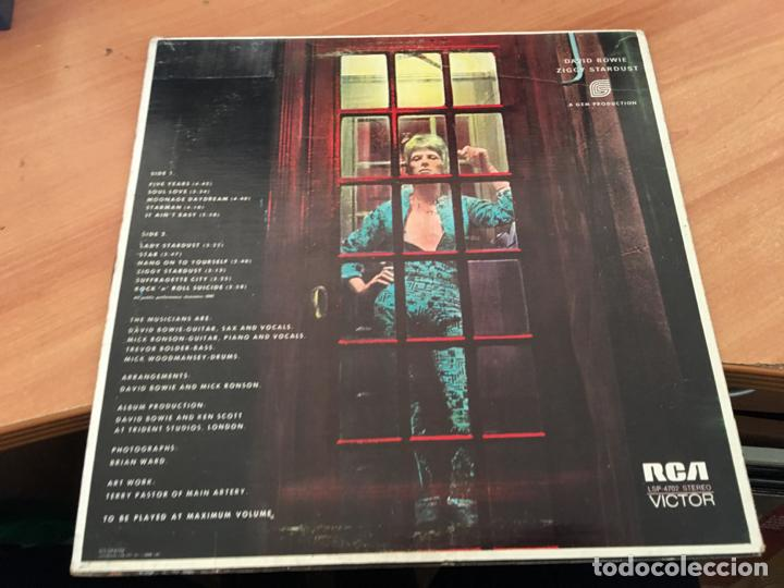 Discos de vinilo: DAVID BOWIE (THE RISE ANF FALL OF ZIGGY STARDUST AND SPIDERS FROM MARS) LP CANADA 1972 (B-10) - Foto 3 - 195048680