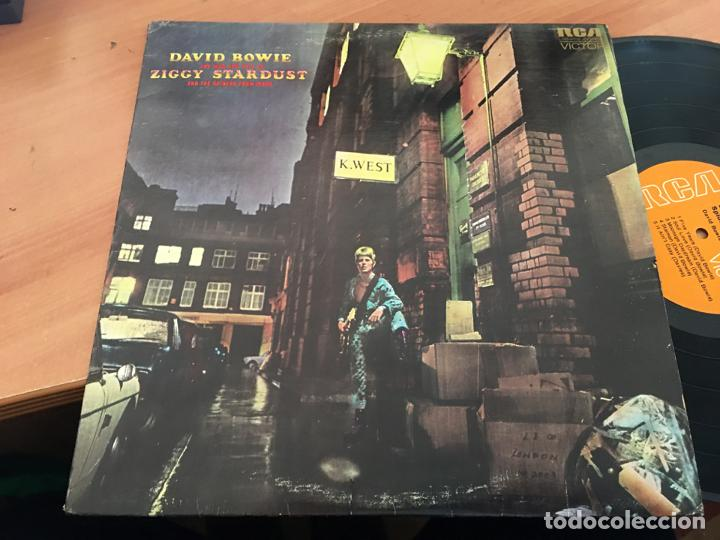 DAVID BOWIE (THE RISE ANF FALL OF ZIGGY STARDUST AND SPIDERS FROM MARS) LP CANADA 1972 (B-10) (Música - Discos - LP Vinilo - Pop - Rock - Extranjero de los 70)