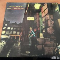Discos de vinilo: DAVID BOWIE (THE RISE ANF FALL OF ZIGGY STARDUST AND SPIDERS FROM MARS) LP CANADA 1972 (B-10). Lote 195048680