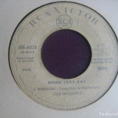 Discos de vinilo: LUIS DE LUCENA SG RCA EDICION JUKE BOX 1965 - MI NOVIO Y EL TELEFONO +1 CANCION ESPAÑOLA - COPLA POP. Lote 195049263