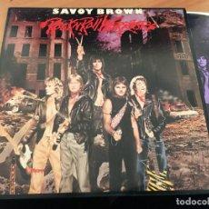 Discos de vinilo: SAVOY BROWN (ROCK 'N' ROLL WARRIORS) LP 1981 (B-10). Lote 195049996