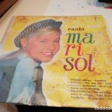 Discos de vinilo: BAL-1 DISCO GRANDE CANCIONES DE UN RAYO DE LUZ Y HA LLEGADO UN ANGEL CANTA MARISOL VER FOTOS . Lote 195050535