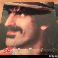 Discos de vinilo: FRANK ZAPPA (YOU ARE WAHT YOU IS) 2 LP ESPAÑA 1981 (B-10). Lote 195053421